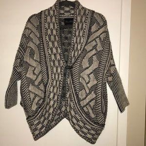 Zara knitwear poncho